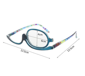 Lady's Make Up Magnifying Reading Glasses For Women Portable Clear Lens Spectacles Presbyopic Glasses Eyewear Unisex-BUYALL20