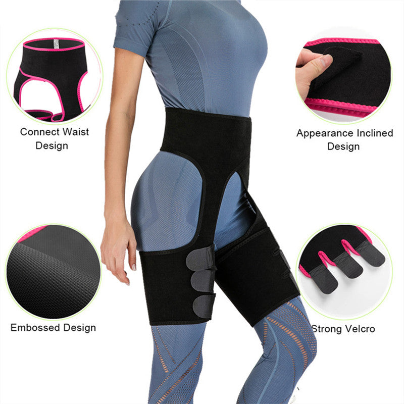 New Hip Enhancer Leg Shaper Slimming Corsets Flat Stomach Shaping Waist Trainer Butt Lifter Body Shapewear Slim Sweat Belt-BUYALL20