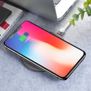 XO for iPhone X 8 /8 Plus 10W Qi Wireless Charging For Samsung Galaxy S9 S8 Plus Note8 USB Charging Stand Phone Wireless Charger-BUYALL20