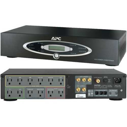 APC H15BLK 12-Outlet H-Type Rack-Mountable Power Conditioner-BUYALL20