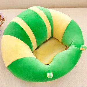 Portable Soft Sofa Floor Seat Cute Cushion Plush Kids Toy