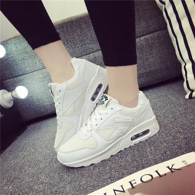 Breathable Mesh Sport Shoes Women Tennis Shoes Female Stability Athletic Fitness Sneakers Trainers-in Tennis Shoes