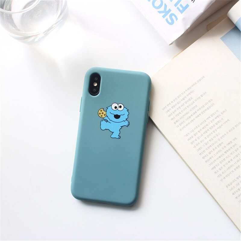 Sesame Street Case For iPhone 8 8plus 7 7 Plus Cases Silicone Phone Case-BUYALL20