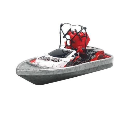 RC Boat Flying Air Boat Radio-Controlled Machine on the Control Panel Birthday Christmas Gifts Remote Control Toys for Kids-BUYALL20