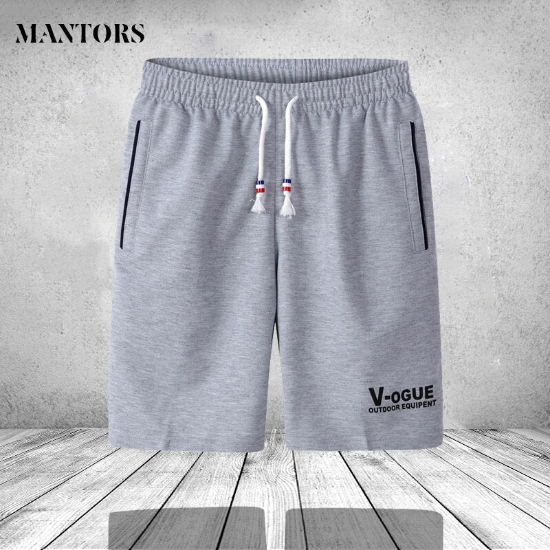 Summer Shorts Men Fashion Brand Boardshorts Breathable Male Casual Shorts Comfortable Plus Size Fitness Mens Bodybuilding Shorts