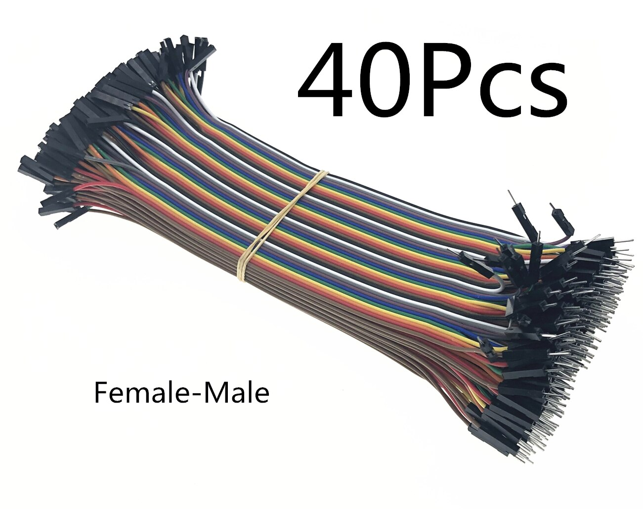 40-120pcs Dupont Line 10CM 40Pin Male to Male + Male to Female and Female to Female Jumper Wire Dupont Cable for Arduino DIY KIT
