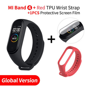 In Stock Xiaomi Mi Band 4 Smart Miband 3 Color AMOLED Screen Bracelet Heart Rate Fitness Tracker Bluetooth5.0 Waterproof Miband4