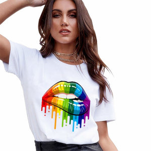 2020 New T Shirts Women Fashion Graphic Print Vogue Tshirts Casual  Tops Harajuku Tees Female T shirts Clothing Camisas Mujer
