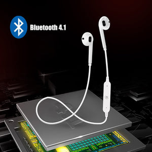 Wireless Bluetooth Earphones Noise Cancelling Headset Neckband life Sport  stereo In-Ear With Microphone for iPhone Xs Samsung 9
