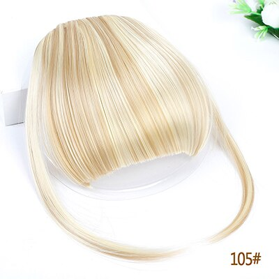 MUMUPI  Air Bangs Clip In Bangs Front Neat Bangs Fringe Hair Women Clip In Hair clip Extension on hair accessories fake hair