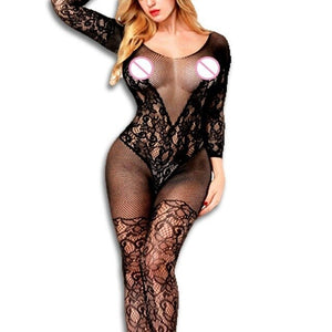 crotchless plus size Sexy Lingerie Women Erotic Lingerie Hot Sex Products Sexy Costumes Underwear Slips Intimates Bodysocks
