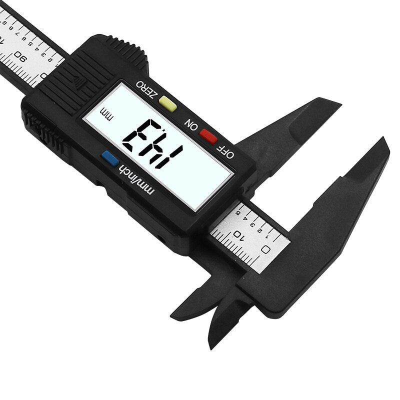 Carbon Fiber Composite 6 inch 0-150mm Vernier Digital Electronic Caliper Ruler