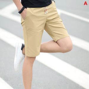 2020 Summer Men's shorts Casual Loose Cropped Trousers Sports Shorts Loose Knit Straight Casual Pants Cotton Short Pants New 4XL