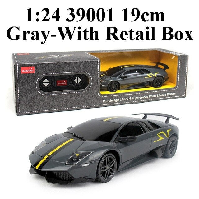 Rastar 1:24 4CH RC Cars Collection Radio Controlled Cars Machines On The Remote Control Toys For Boys Girls Kids Gifts