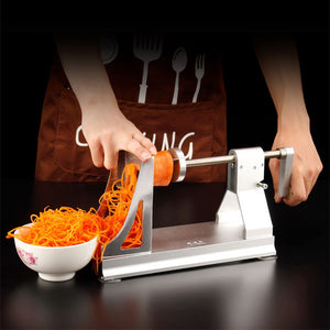 Multifunctional Vegetable Slicer Aluminum Alloy Manual Fruit Cutter Food Chopper Cucumber Peeling Knife Cutting Machine