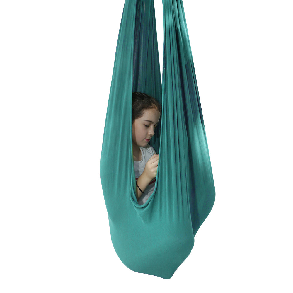 Indoor Therapy Sensory Swing for Kids Snuggle Cuddle Hammock Special Needs Lycra Snuggle Swing | Cuddle Hammock for Children-BUYALL20