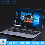 "16G RAM 1TB / 500/1000GB HDD 128G SSD 15.6"" Gaming Laptop i7 Notebook PC Metal Business AZERTY Italian Spanish Russian Keyboard-BUYALL20"