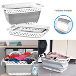 Collapsible Laundry Basket Space Saving Folding Cloth Washing Storage Container Hot Sale-BUYALL20