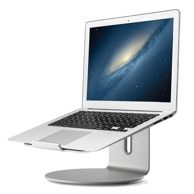 Laptop Stand - 360-degree Rotating Notebook Stand Aluminum Alloy  Cooling Computer Stand & Holder for Apple MacBook Air, MacBook