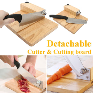 Biltong Cutter Jerky Slicer Knife Household Rice Cake Knife Meat Slicer Cutting Board Kitchen Tools Cooking Accessories