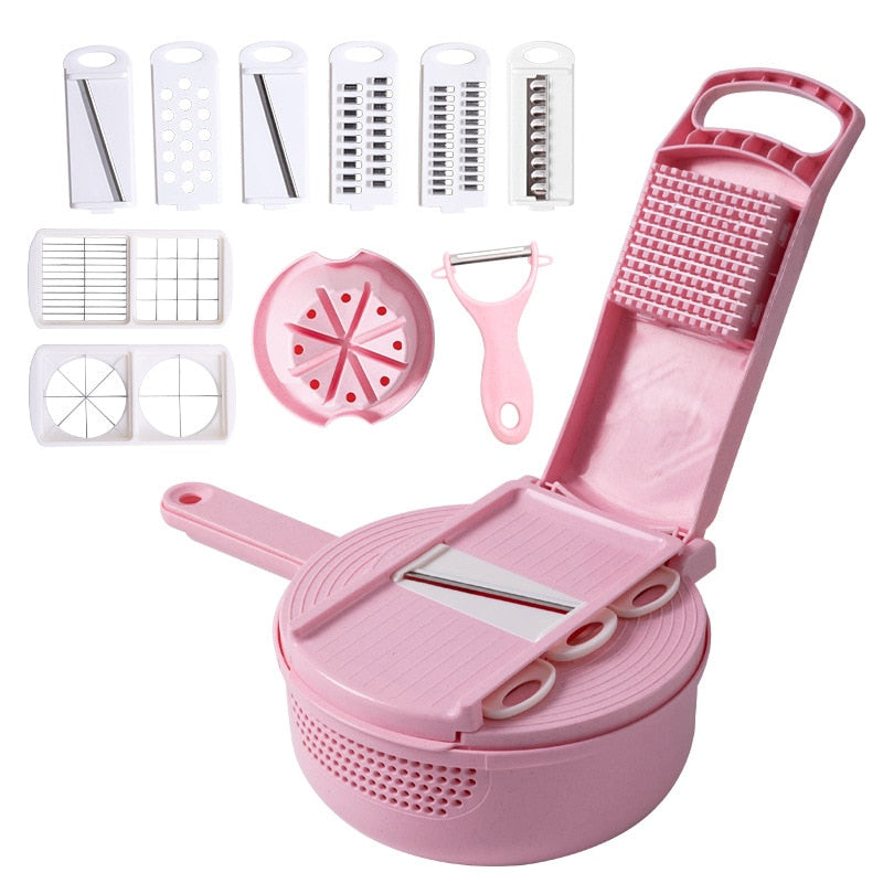 Multifunction Food Cutting Diced Slicer Grater Wheats Straw Kitchen Tools  Hogard
