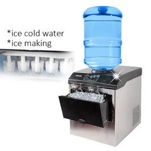ice making machine electric commercial or homeuse countertop Automatic bullet ice maker, ice cube making machine, 220V HZB-25/BF-BUYALL20