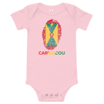 Carriacou Spice Isle Roots Onesie, 3M-24M