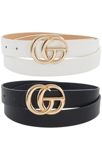 Gorgeous Girls Twin Pack Belts
