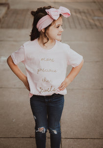 More Precious than Jewels Youth Tee