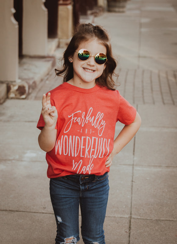 Fearfully & Wonderfully Made Youth Tee
