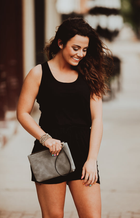 Basic Black Romper