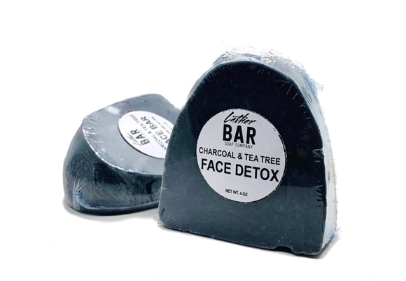 Charcoal & Tea Tree Face Detox Soap