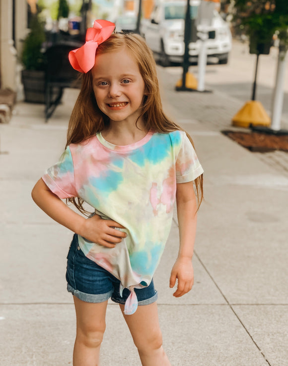Tie Dye Shirt-Preteen/Girls (Multiple color options)