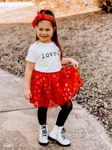 """loved."" Unisex Toddler Tee"