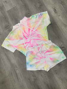 Neon Lights Tie Dye Lounge Set