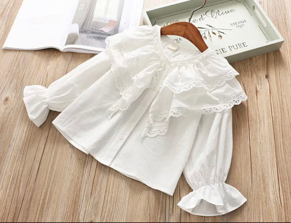 The Addison Ruffle Blouse