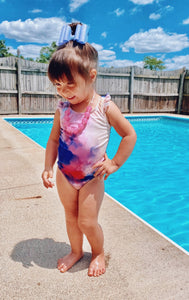 Tie Dye Toddler One Piece