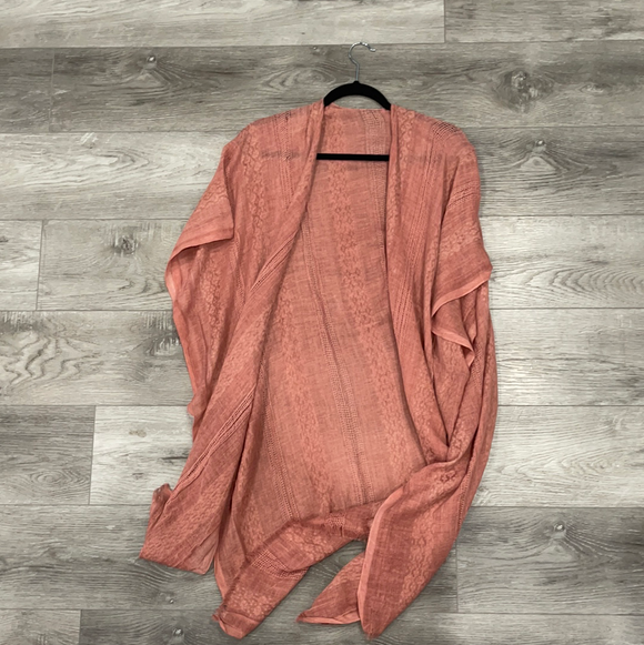 Short Sleeve Woven Cardigan (Multiple Color Options)