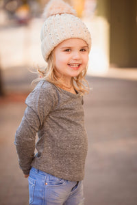 Toddler Long Sleeve Basic Tee