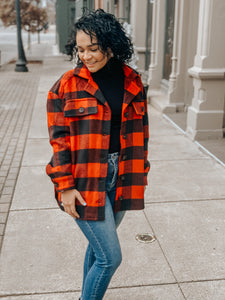 Easy Plaid Jacket