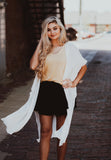 Black Shorts with Ruffle Overlay- Two LG Left