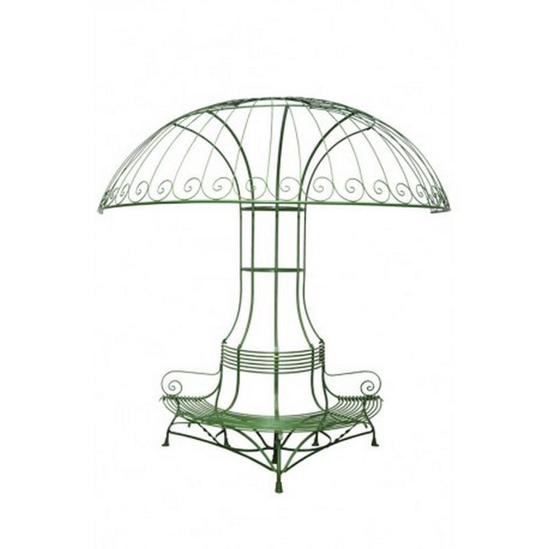 France Garden Parasol (available in green and brown)