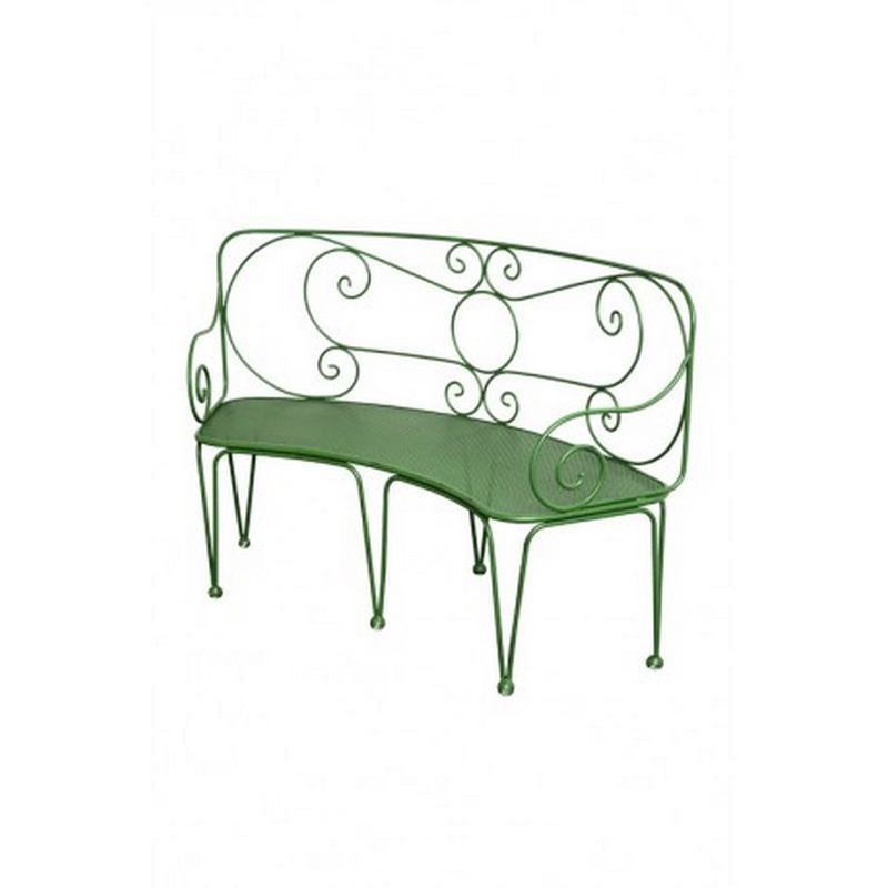 France Two Seater Romantique Garden Bench