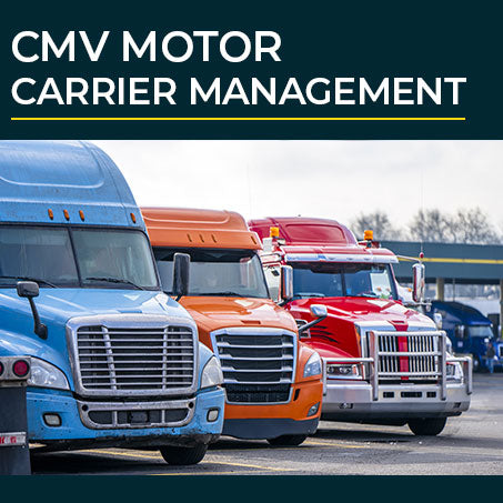 CMV Motor Carrier Management Courses