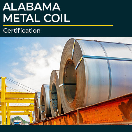 Alabama Metal Coil Certification