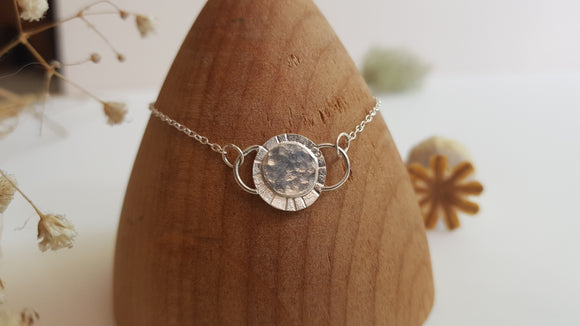 Faces of the Moon Sterling Silver Bracelet