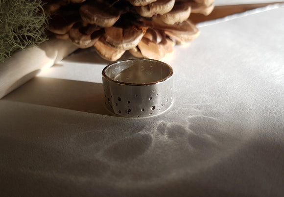 West Coast Trees Sterling Silver Ring