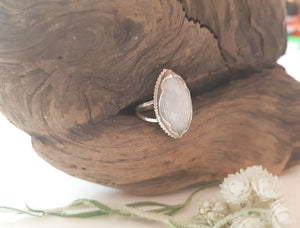 Marquis Moonstone Ring