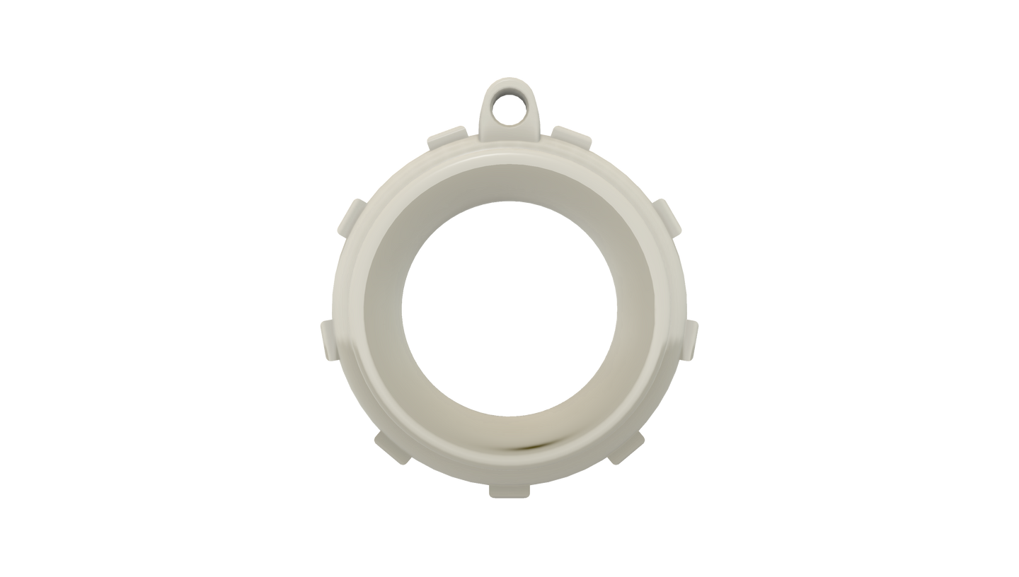 Knot-Aide Fishing Ring (White)