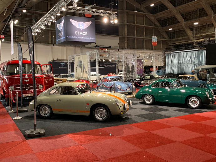 Stace is ready for Interclassics Brussels